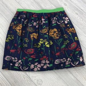 Anthropologie Madchen Garden of Spectrum Skirt 12